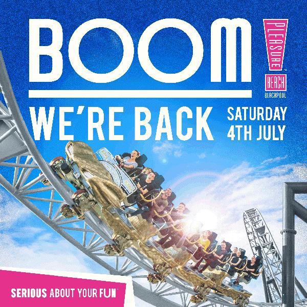 Boom were open - Blackpool