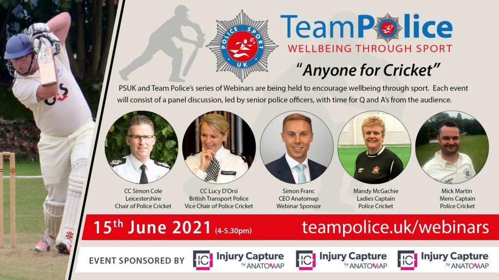 Team Police - Webinar Cricket